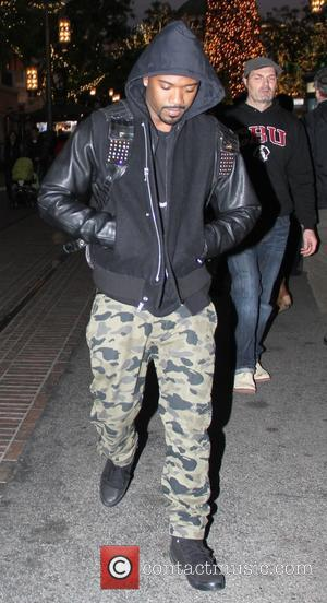 Ray J Norwood - Ray J Norwood shopping at The Grove in Hollywood with a female companion - Hollywood, California,...