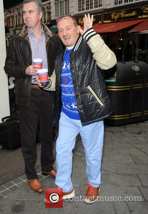 Brendan O'Carroll - Brendan O'Carroll at Global House - London, United Kingdom - Thursday 18th December 2014