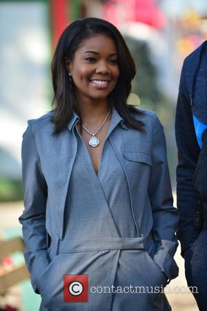 Gabrielle Union - A fun filled day at Santa's Enchanted Forest for Wade's World Foundation '3 Under the Tree' Event...