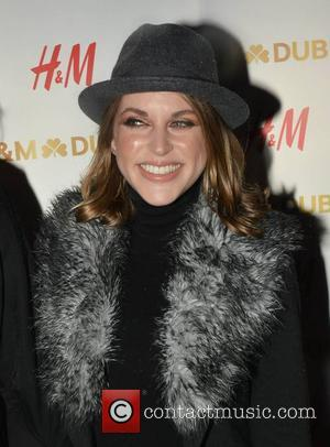 Amy Huberman - H&M opens up a flagship store on Dublin's College Green - Arrivals - Dublin, Ireland - Thursday...