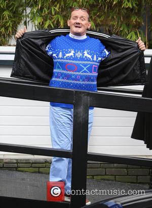 Brendan O'Carroll - Brendan O'Carroll outside ITV Studios - London, United Kingdom - Thursday 18th December 2014