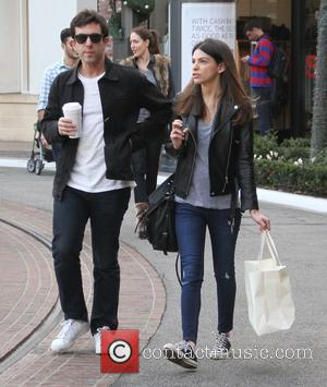 B.J. Novak - B.J. Novak shops at The Grove with a friend - Los Angeles, California, United States - Saturday...