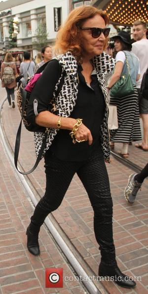 Diane Von Furstenberg - Diane Von Furstenberg shops at The Grove - Los Angeles, California, United States - Saturday 20th...