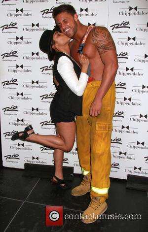 Monica Raymund - 'Chicago Fire' star Monica Raymund visits Chippendales Las Vegas at Chippendales Theater inside Rio All Suite Hotel...