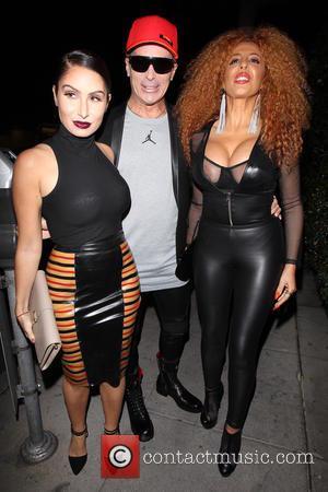 Lloyd Klein, Afida Turner and Ruby Palm - Afida Turner celebrates her birthday at Mr Chow restaurant - Los Angeles,...