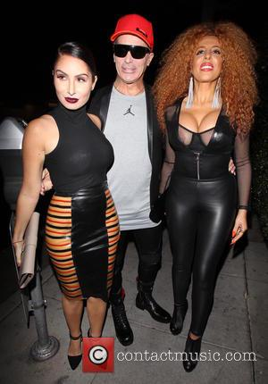 Lloyd Klein, Afida Turner and Ruby Palm - Afida Turner celebrates her birthday at Mr Chow restaurant - Los Angeles,...