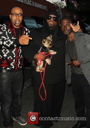 Columbus Short, Cee Lo Green and Guest