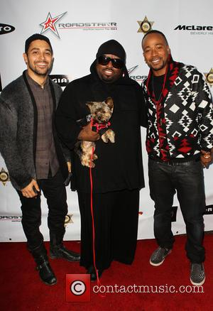 Wilmer Valderrama, Cee Lo Green and Columbus Short