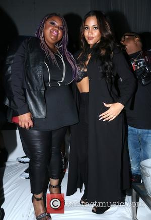Echo Hattix and Rosa Acosta - American rapper and founder of Maybach Music Group Rick Ross gave a live performance...