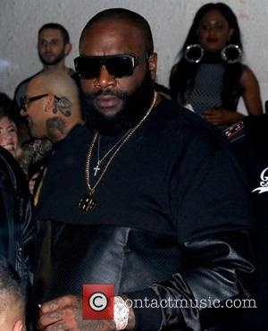 Rick Ross - American rapper and founder of Maybach Music Group Rick Ross gave a live performance at SupperClub in...