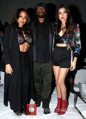 Rosa Acosta, Melo Kan and Anjali - American rapper and founder of Maybach Music Group Rick Ross gave a live...