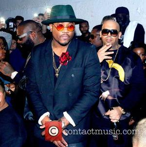 Sincere and Mally Mall - American rapper and founder of Maybach Music Group Rick Ross gave a live performance at...