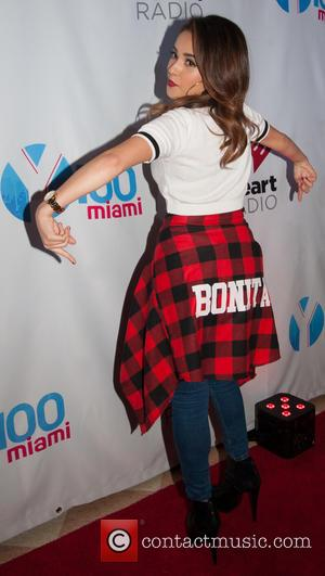 Becky G - Shots of a variety of pop stars as they arrived at the Y100 Jingle Ball 2014 which...