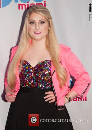 Meghan Trainor - Shots of a variety of pop stars as they arrived at the Y100 Jingle Ball 2014 which...