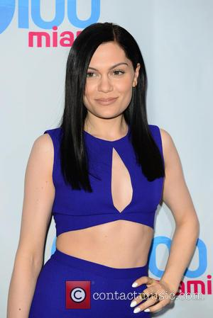 Jessie J - Shots of a variety of pop stars as they arrived at the Y100 Jingle Ball 2014 which...