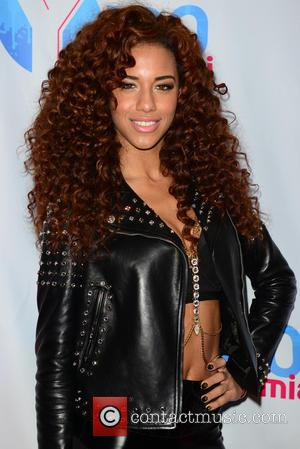 Natalie La Rose - Shots of a variety of pop stars as they arrived at the Y100 Jingle Ball 2014...