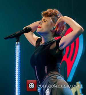 Kiesza - Photographs of a host of pop stars as they gave live performances at the Y100 Jingle Ball 2014...