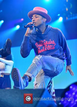 Pharrell Williams - Photographs of a host of pop stars as they gave live performances at the Y100 Jingle Ball...