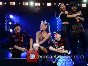 Ariana Grande - Photographs of a host of pop stars as they gave live performances at the Y100 Jingle Ball...
