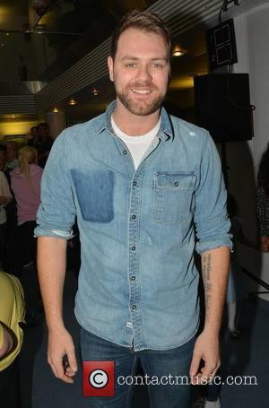 Brian McFadden - Celebrities attend the annual Christmas Ward Walk 2014 at Our Lady's Hospital For Sick Children - Dublin,...