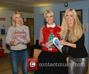 Pippa O'connor, Lisa Fitzpatrick and Rosanna Davison