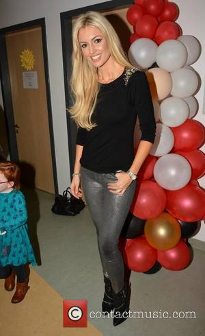 Rosanna Davison - Celebrities attend the annual Christmas Ward Walk 2014 at Our Lady's Hospital For Sick Children - Dublin,...