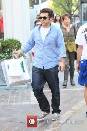 Fred Savage - Fred Savage Xmas shopping at The Grove - Los Angeles, California, United States - Monday 22nd December...