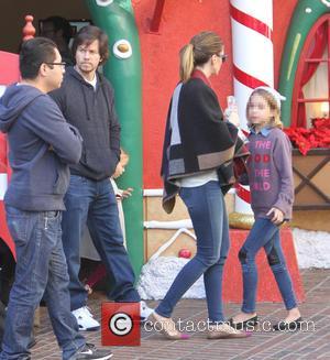 Rhea Durham, Ella Wahlberg and Mark Wahlberg
