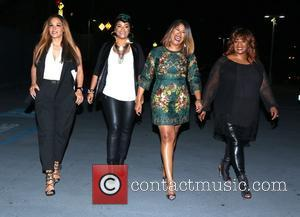 Sheree Fletcher, April Daniels, Diann Valentine and Sandra Campbell - Shots of a variety of stars as they arrived at...
