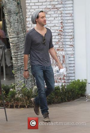 Jack Huston - Celebrities Christmas shopping at The Grove - Los Angeles, California, United States - Wednesday 24th December 2014