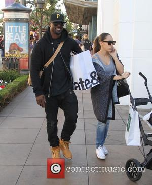 Lance Gross - Celebrities Christmas shopping at The Grove - Los Angeles, California, United States - Wednesday 24th December 2014