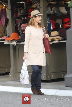 Nia Vardalos - Celebrities Christmas shopping at The Grove - Los Angeles, California, United States - Wednesday 24th December 2014