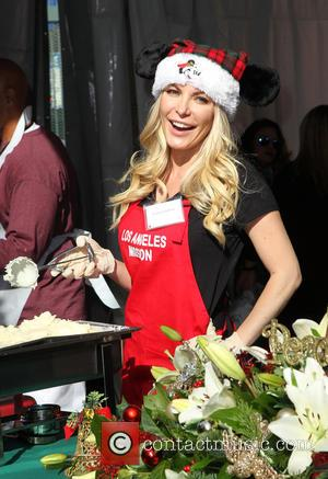 Crystal Hefner - A variety of stars were on hand to help out at the Los Angeles Mission Christmas Eve...
