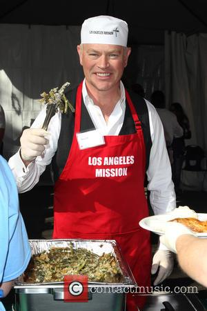 Neal McDonough - A variety of stars were on hand to help out at the Los Angeles Mission Christmas Eve...