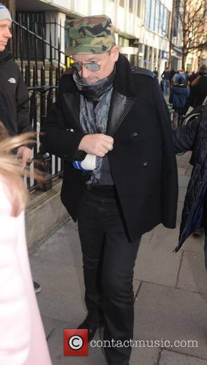 Bono - Photographed wearing a sling after his bicycle accident, U2 front man Bono managed to avoid the annual charity...