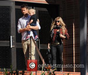 Josh Duhamel, Fergie and Axl Duhamel