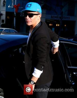 Lloyd Klein - Afida Turner and Lloyd Klein arrive at the Montage Hotel in Beverly Hills - Los Angeles, California,...