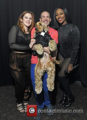 Katy B, Alexandra Burke and Jeremy Joseph