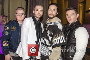 Gustav Schäfer, Bill Kaulitz, Tom Kaulitz, Georg Listing and Tokio Hotel