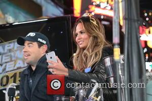 Carson Daly and Chrissy Teigen
