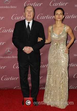 Robert Duvall and Luciana Duvall - A host of Hollywood's biggest stars were photographed as they arrived at the Palm...