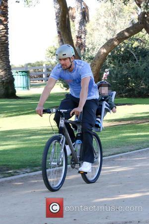 Josh Duhamel and Axl Duhamel