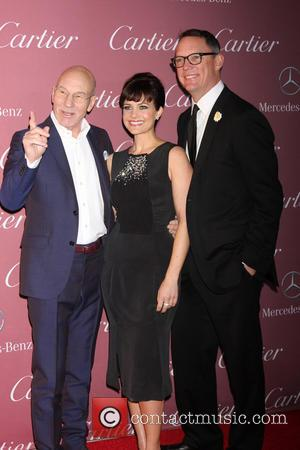 Patrick Stewart, Carla Gugino and Matthew Lillard - A host of Hollywood's biggest stars were photographed as they arrived at...