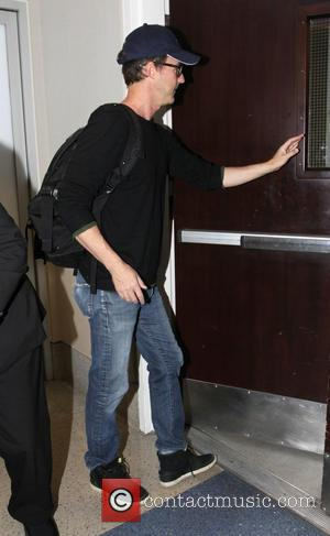 Edward Norton - Edward Norton departs from Los Angeles International Airport (LAX) - Los Angeles, California, United States - Monday...