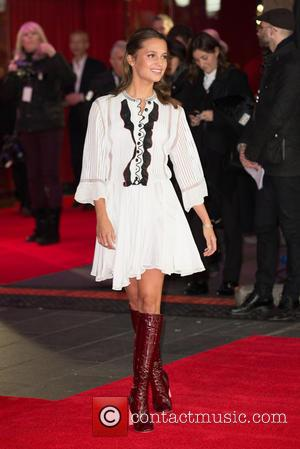 Alicia Vikander - The A variety of stars took to the red carpet ahead of the UK premiere of the...