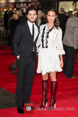 Kit Harington and Alicia Vikander