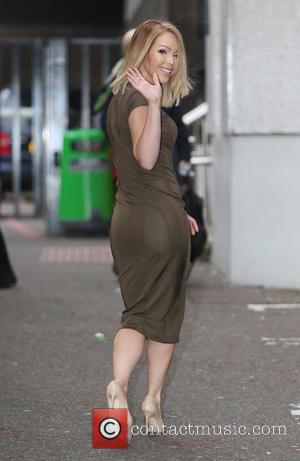 Katie Piper - Katie Piper outside ITV Studios - London, United Kingdom - Monday 5th January 2015