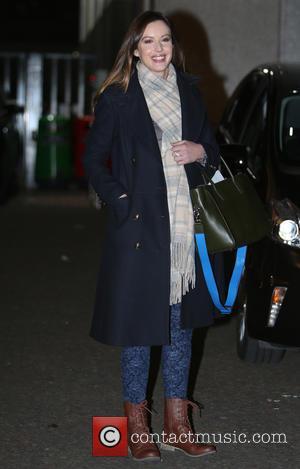 Charlie Webster - Charlie Webster outside ITV Studios - London, United Kingdom - Monday 5th January 2015