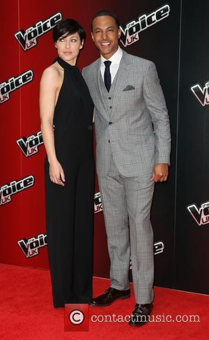 Emma Willis and Marvin Humes