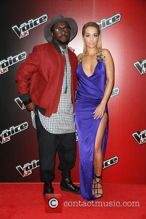 Rita Ora and Will.I.Am - Photos from the launch of the 4th season of The Voice UK which see's Rita...